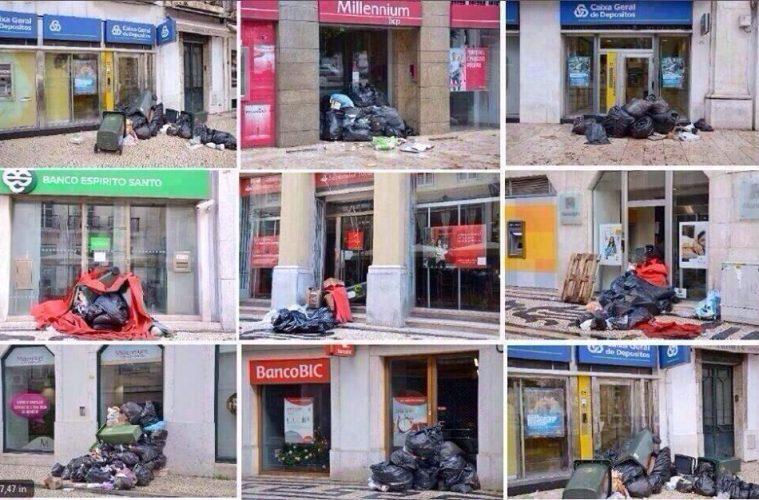 σκουπίδια πορτογαλία