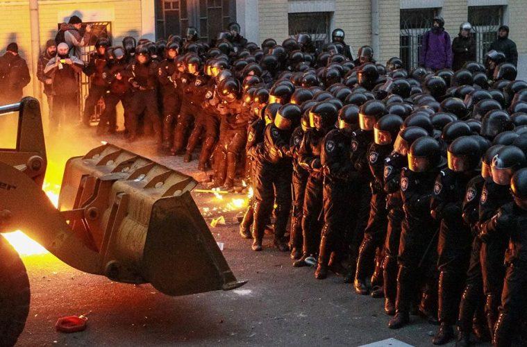 Ουκρανία διαδηλώσεις