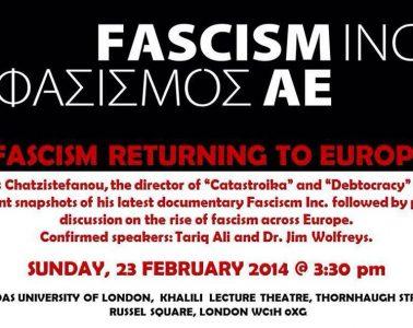 φασισμός Λονδίνο soas