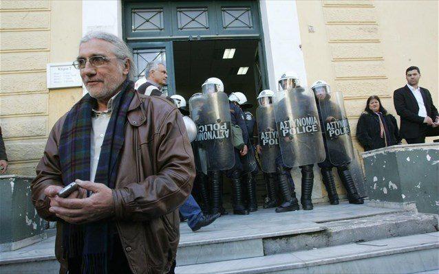 Αντωνόπουλος διαδηλώσεις