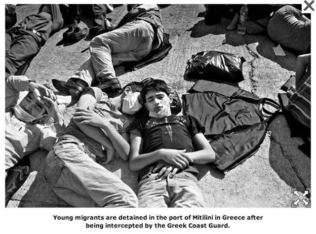 μετανάστες HRW