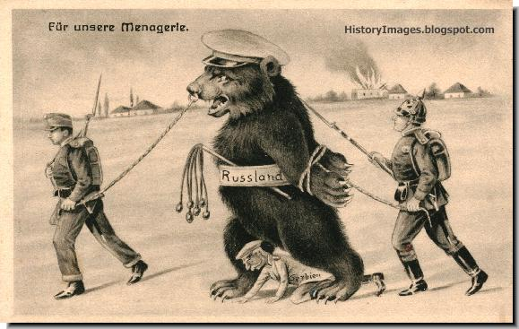 german-ww1-poster-taming-russian-bear