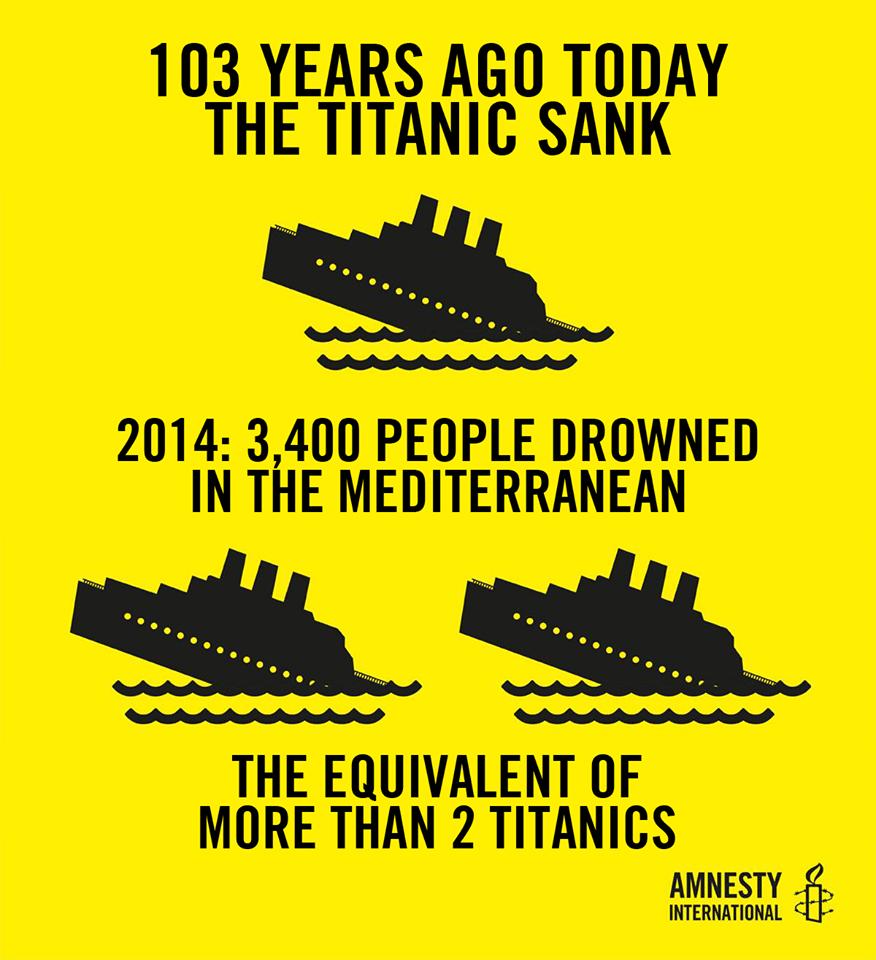 amnesty titanic