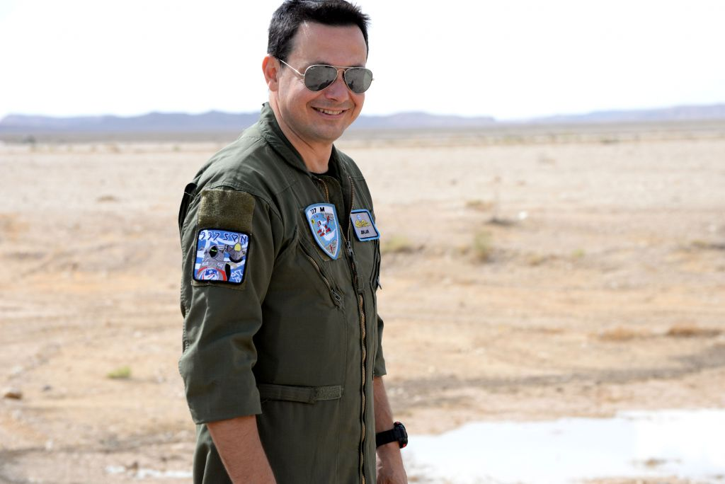 Έλληνας πιλότος που συμμετέχει στην άσκηση Blue Flag
