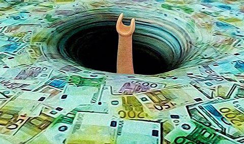 ευρώ μαύρη τρύπα