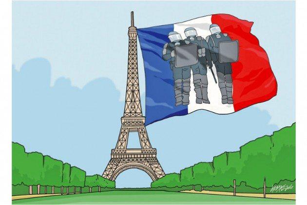 Γαλλία καταστολή