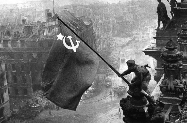 The-Soviet-flag-over-the-Reichstag,-1945-(1)