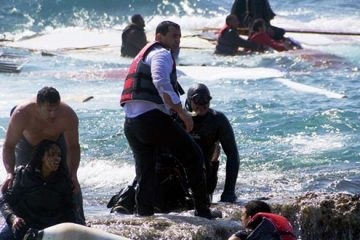 μετανάστες ναυάγιο