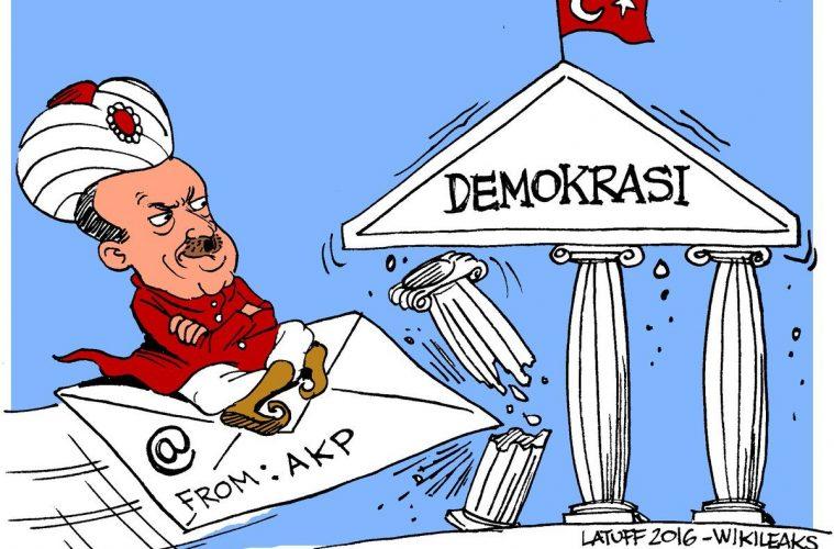 Σκίτσο του Lattuf για τα Wikileaks