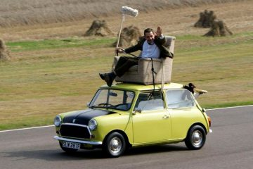 Self-driving car _ Mr Bean