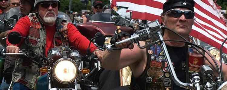 τραμπ bikers