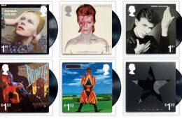 Bowie γραμματοσημα