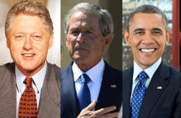 bush obama clinton trump