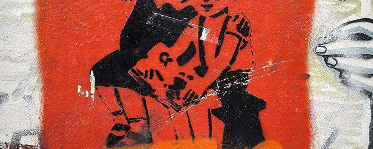 φασισμός αθήνα γκράφιτι