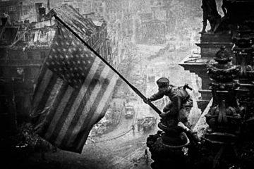 reichstag us flag