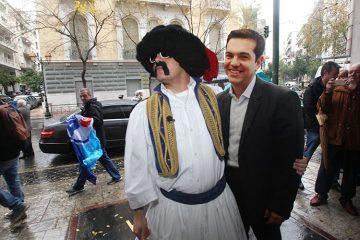 ελληνοφρένεια τσίπρας