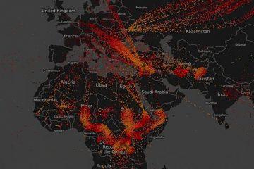 πρόσφυγες παγκόσμιος χάρτης