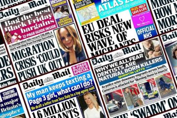 daily maily front pages