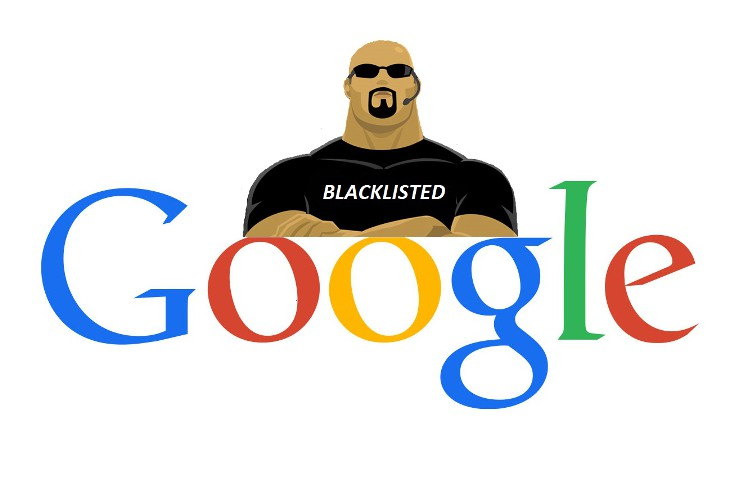 Google μαύρη λίστα