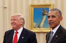 Ομπάμα τραμπ συνάντηση Λευκό Οίκο