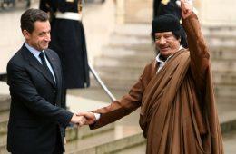 Σαρκοζί - Καντάφι