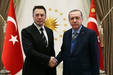 Έλον Μασκ - Ερντογάν