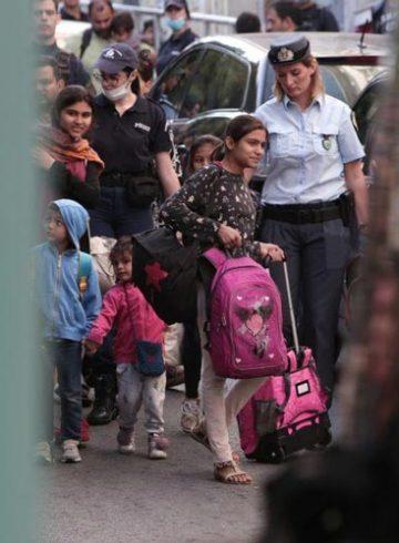 κατάληψη προσφύγων εκκένωση