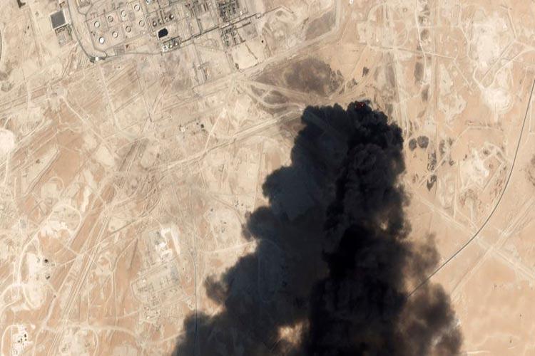 Ριάντ - Σ. Αραβία - επίθεση σε εγκαταστάσειςπετρελαίου