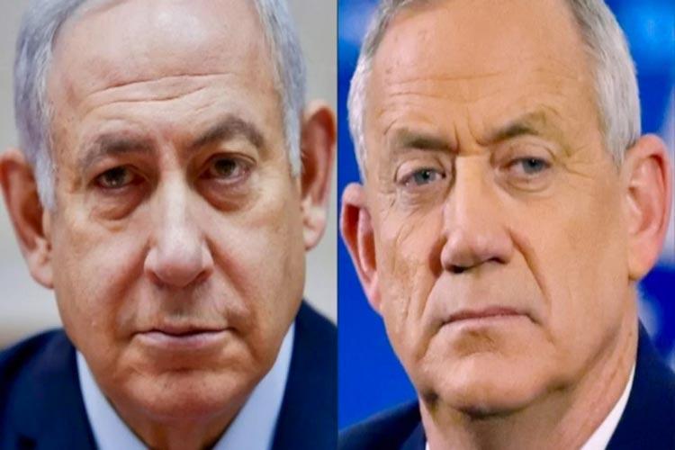 Ισραηλινές εκλογές Νετανιάχου Γκαντζ