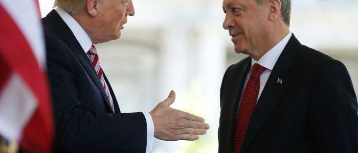 τράμπ ερντογάν