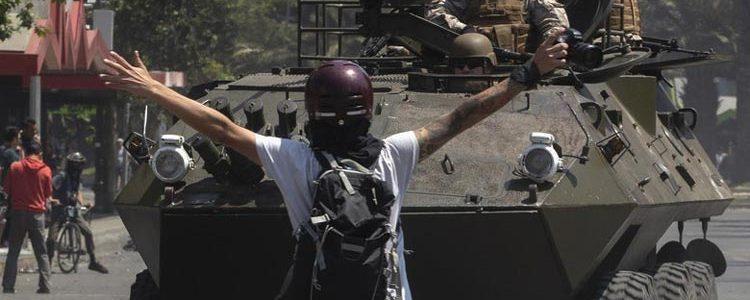 Χιλή δυνάμεις καταστολής βία