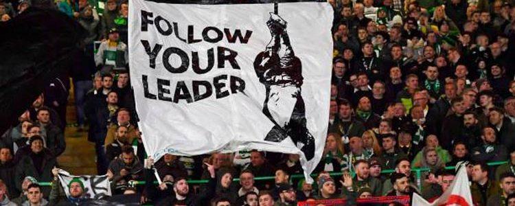 Σέλτικ Λάτσιο αντιφασισμός «Ακολουθήστε τον αρχηγό σας»