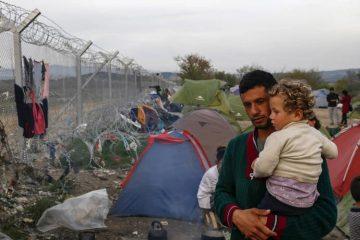 Ακροδεξιός χορός πρόσφυγες μετανάστες