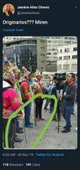 ξέπλυμα πραξικοπήματος Βολιβία tweet προσωρινή πρόεδρος