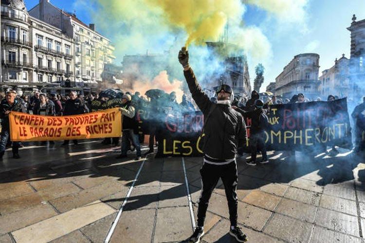 Γαλλία συνδικάτα απεργία φοιτητές