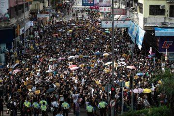 Χονγκ Κονγκ διαδηλώσεις παγκόσμια οικονομία Κίνα