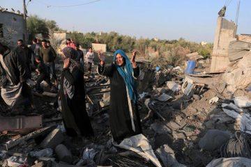 Ισραήλ Παλαιστίνη σφαγή αμάχων