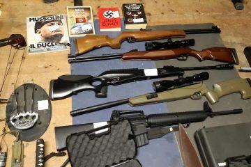 νεοναζιστική οργάνωση οπλισμός Ιταλία
