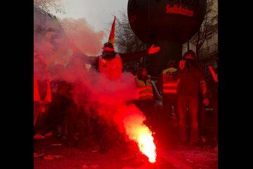 Γαλλία απεργία κινητοποιήσεις Μακρόν