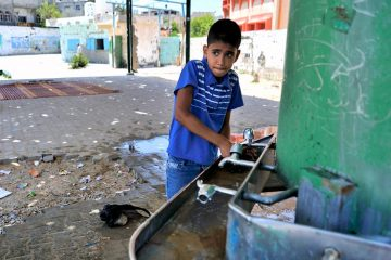 Ισραήλ Γάζα κλιματική αλλαγή νερό