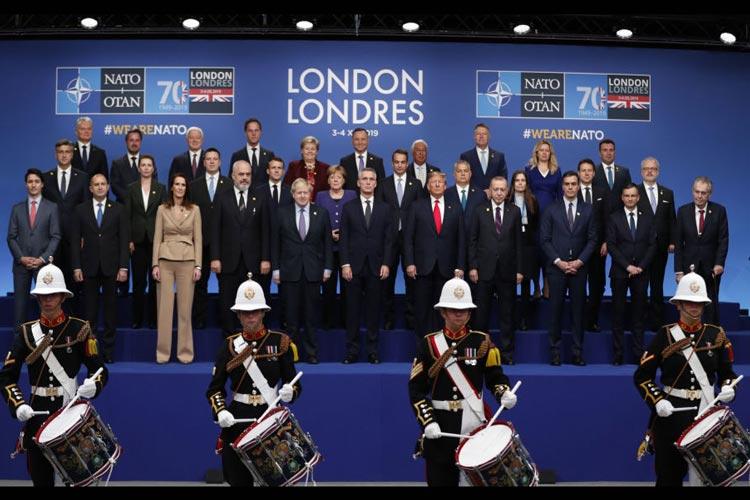ΝΑΤΟ Λονδίνο διάσκεψη ΗΠΑ Ευρώπη Τουρκία