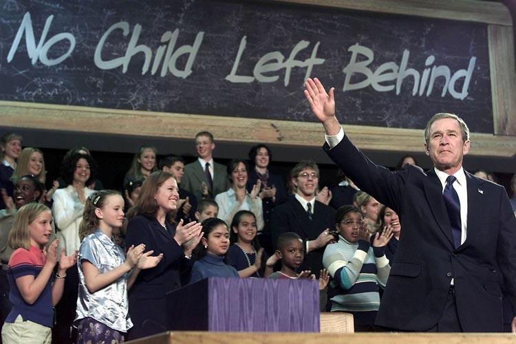 No Child Left Behind σχολεία ΗΠΑ