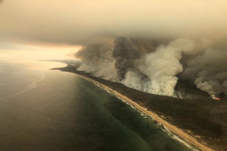 καπνός Αυστραλία πυρκαγιές