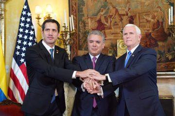 χρηματοδότηση ΗΠΑ Βενεζουέλα