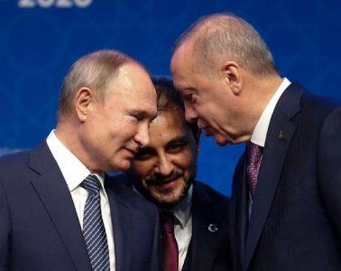 Πούτιν Ερντογάν Λιβύη
