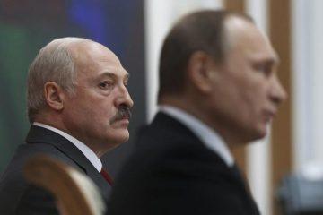 Λευκορωσία Πούτιν Λουκασένκο