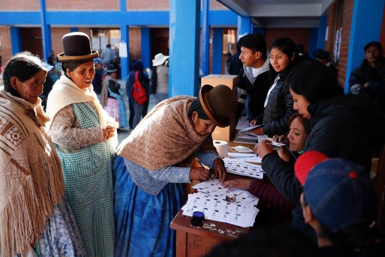 Βολιβία εκλογές νοθεία