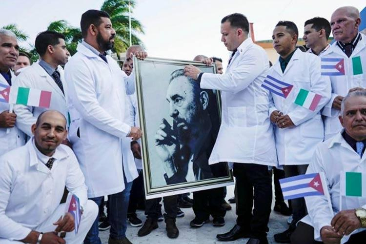 κουβανοί γιατροί Λομβαρδία