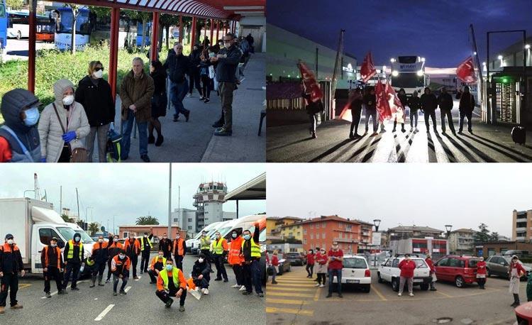 ιταλία απεργία κορονοϊός