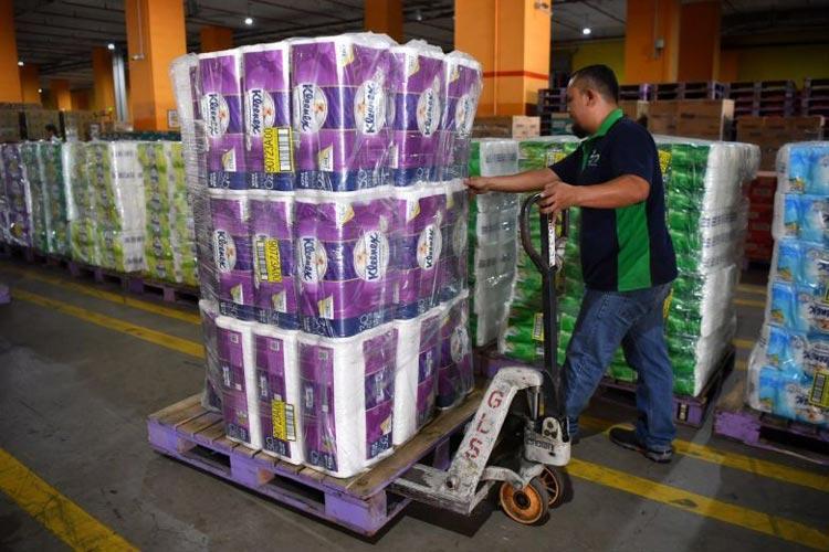 εργαζόμενοι σούπερ-μάρκετ προσωπικό εκτάκτου ανάγκης κορονοϊός